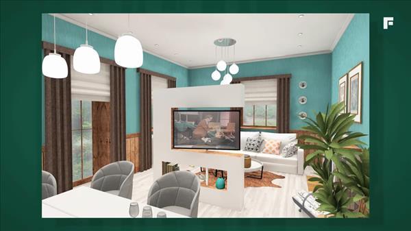 Недорогой красивый дизайн квартиры