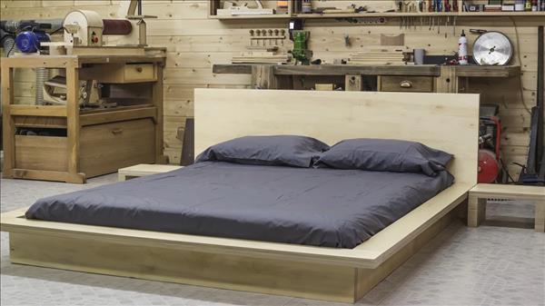 Кровать в японском стиле своими руками. Чертежи