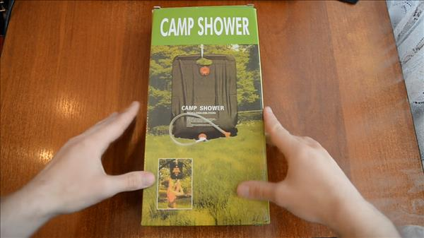 Отзыв на душ CAMP SHOWER