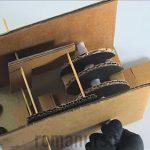 Как сдделать сейф из картона
