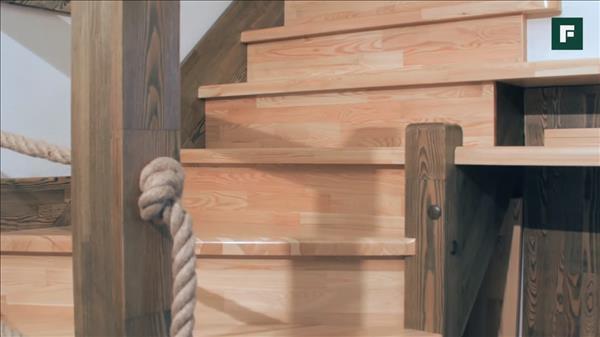 Деревянные элементы в интерьере дома
