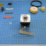 Электрогенератор для телефона из шагового двигателя