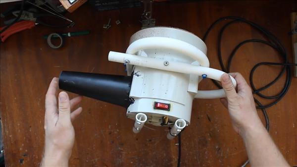 Как сделать воздуходувку из пылесоса