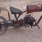 мотор бензопилы на велосипед