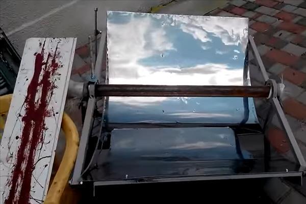 Солнечный коллектор для кондиционирования дома
