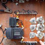 Устройство для проверки автомобильных аккумуляторов