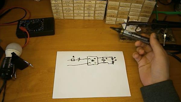 Как убрать мерцание светодиодных ламп