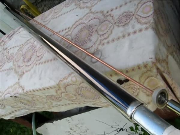 Вакуумная трубка для солнечного коллектора