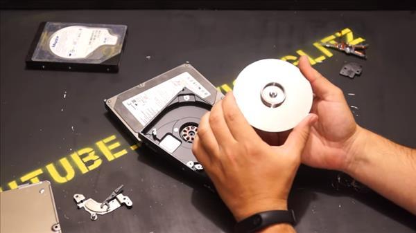 спиннер из жесткого диска