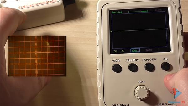 осциллограф diy kit