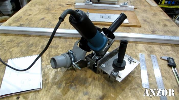 приспособление для УШМ для резки листового металла
