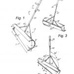 чертеж лопаты с боковым отвалом