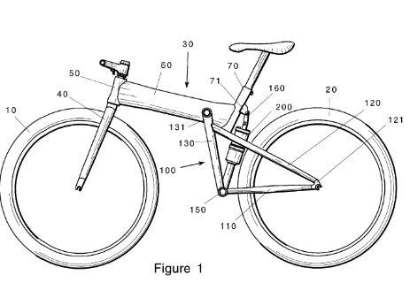 задняя подвеска велосипеда