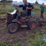 самодельный трактор на базе мотоблока