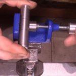 ручные тиски из швеллера