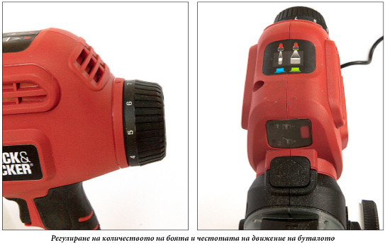 Обзор безвоздушного краскопульта Black & Decker BDPS600