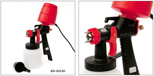 Пистолеты низкого давления для покраски RD-SGC03, RD-SGC04 и RDP-SGC05