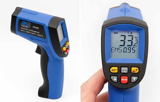Инфракрасный термометр для дистанционного измерения Schwabe: обзор