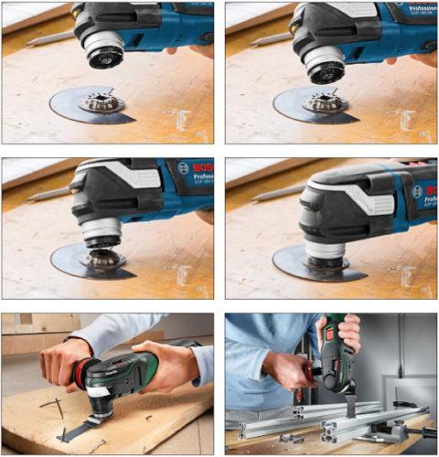 Новый стандарт Starlock для электроинструментов с колебательным движением
