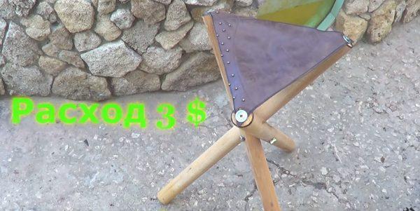 Как сделать самодельное кресло для рыбалки