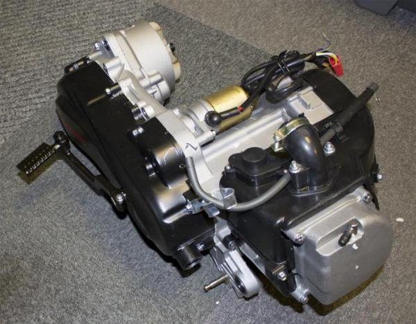 Как работает двухтактный бензиновый двигатель