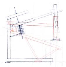 Как я сделал механический дровокол своими руками