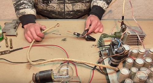 Точечная сварка из конденсаторов своими руками