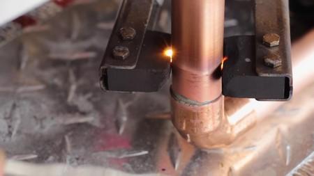 Электрический паяльник для медных труб