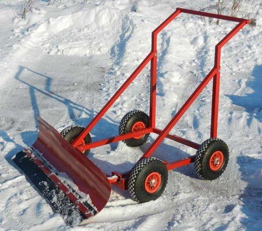 Скребок для снега своими руками » Изобретения и самоделки