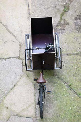 Самодельный трёхколёсный грузовой велосипед