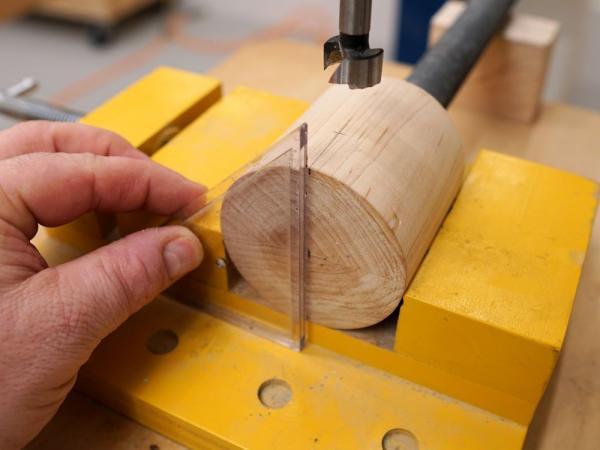 Изготовление тисков с двумя винтами