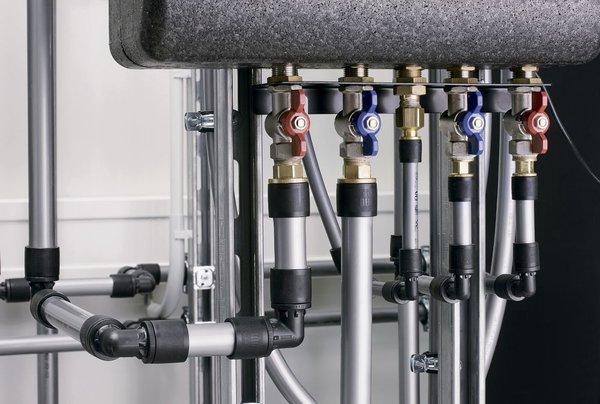 Коллекторная схема разводки труб водоснабжения