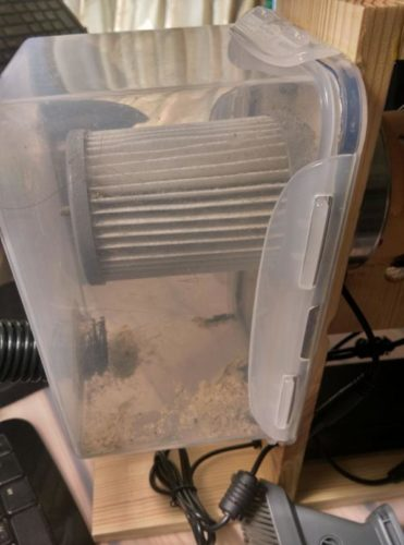 Забацайте пылесос из старого фена