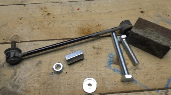Стойка стабилизатора с комплектующими для инструмента