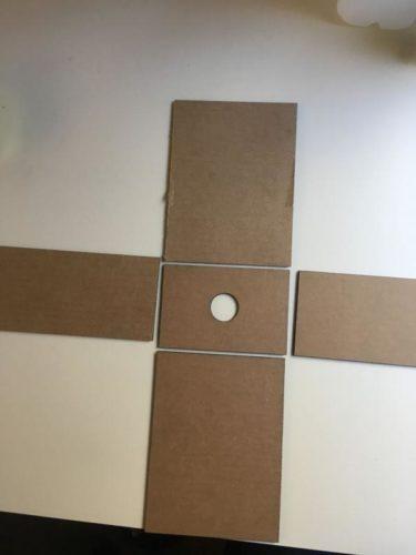 Камера обскура из картона