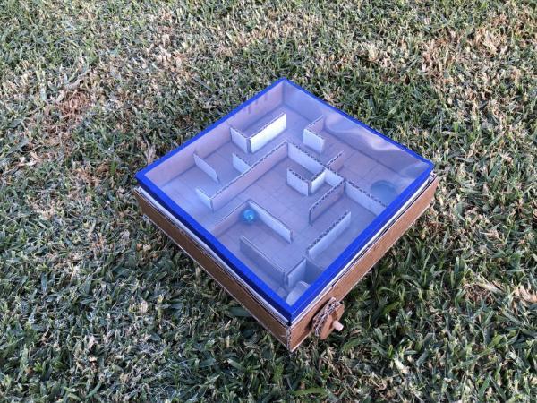 Как сделать лабиринт из картона