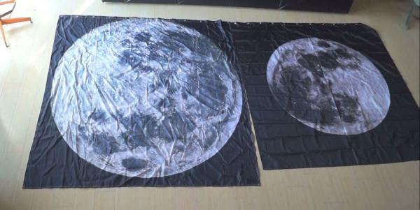 Самодельная лампа Луна со светодиодной подсветкой