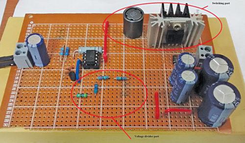 Авторский прототип для проектирования блока питания постоянного тока