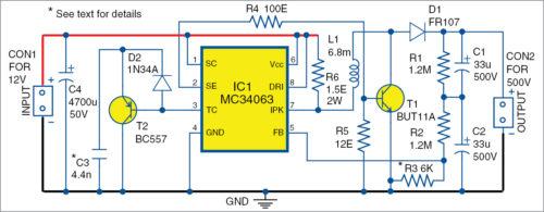 Принципиальная схема блока питания постоянного тока