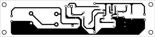 Компоновка печатной платы источника питания постоянного тока