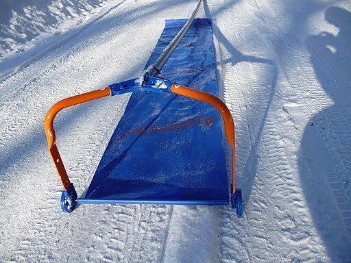 Как сделать скребок для снега